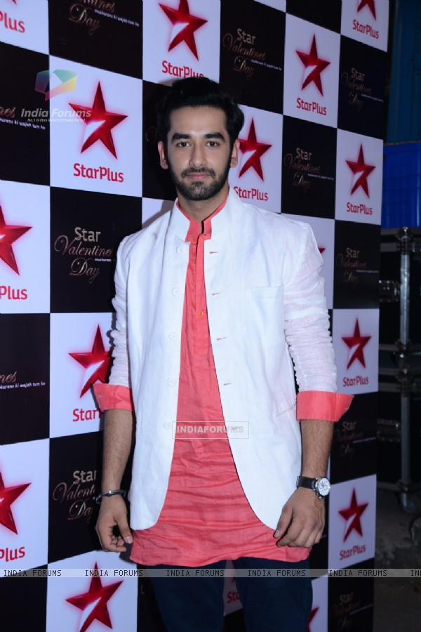Vishal Vashishtha poses for the media at Valentines Day Event by Star Plus