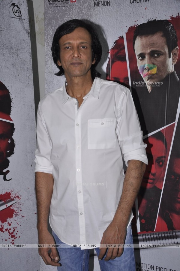 Kay Kay Menon poses for the media at the Promotions of Rahasya