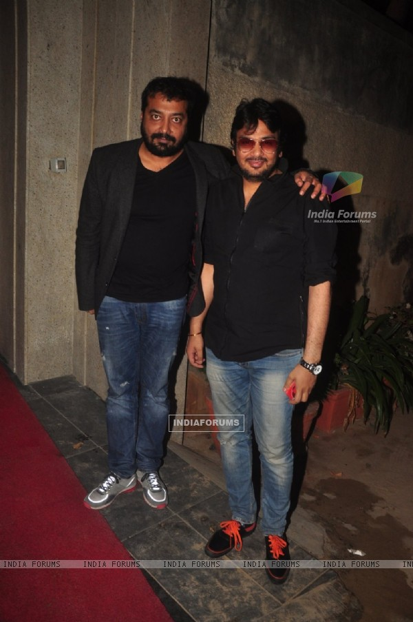 Anurag Kashyap poses for the media at the Success Bash of Queen