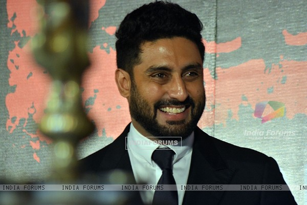 Abhishek Bachchan was snapped at Kala Ghoda Arts Festival 2015