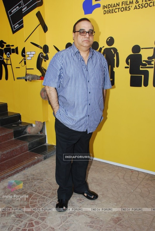 Rajkumar Santoshi poses for the media at IFTDA Office Opening