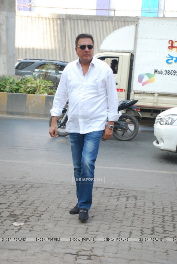 Boman Irani was seen at Madan Mohan's Prayer Meet