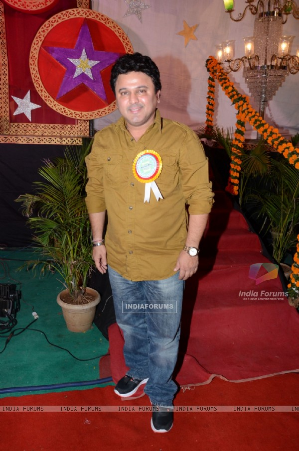 Ali Asgar poses for the media at the Annual Day of Children's Welfare Centre High School