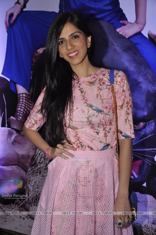 Nishka Lulla poses for the media at 109 Fashion Show