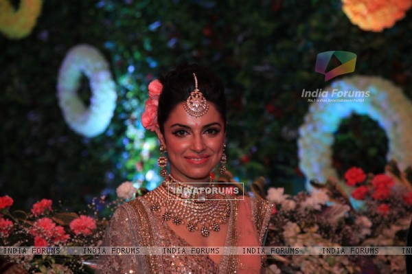 Divya Khosla was at Tulsi Kumar and Hitesh Rahlan's Sangeet Ceremony