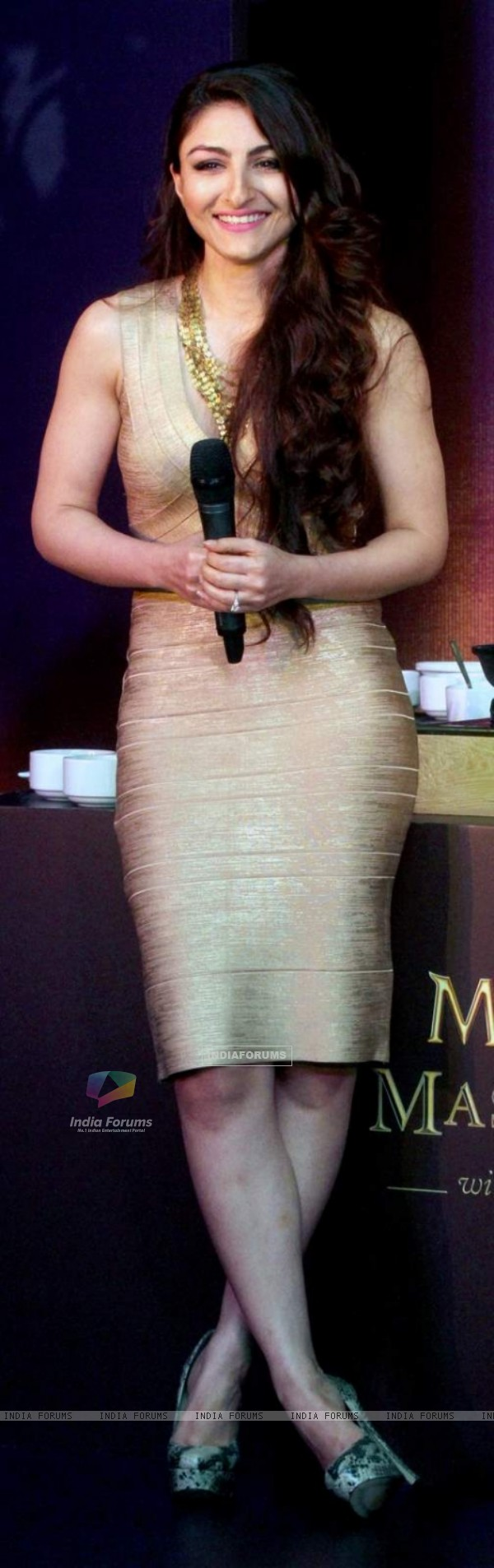 Soha Ali Khan was snapped at Magnum Promotional Event