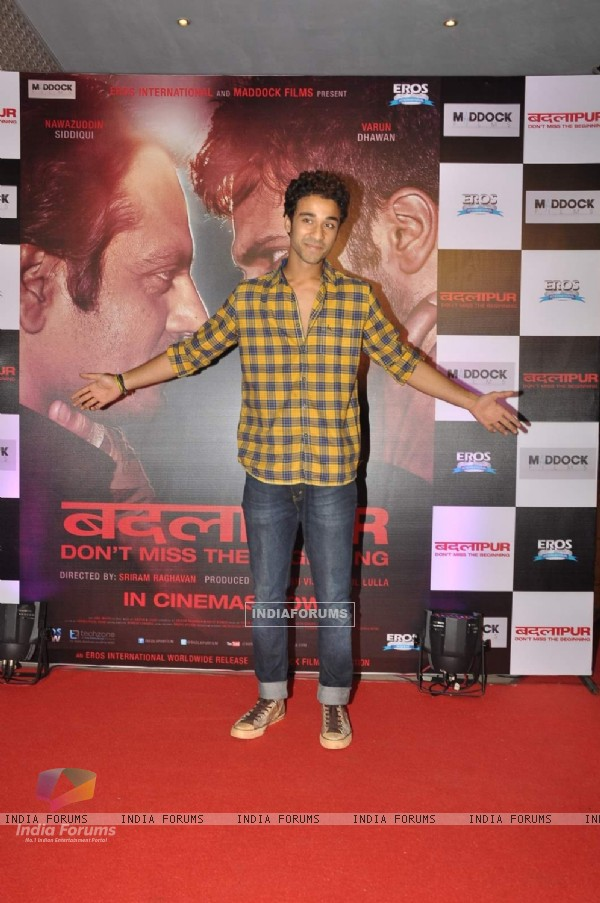 Raghav Juyal was seen at the Success Bash of Badlapur