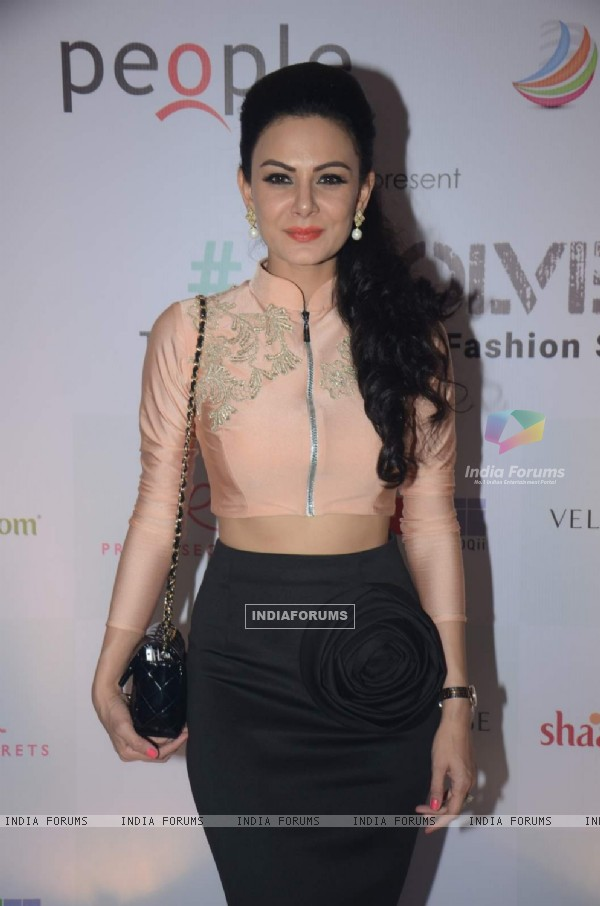 Aanchal Kumar at the Shaadi.com Fashion Show