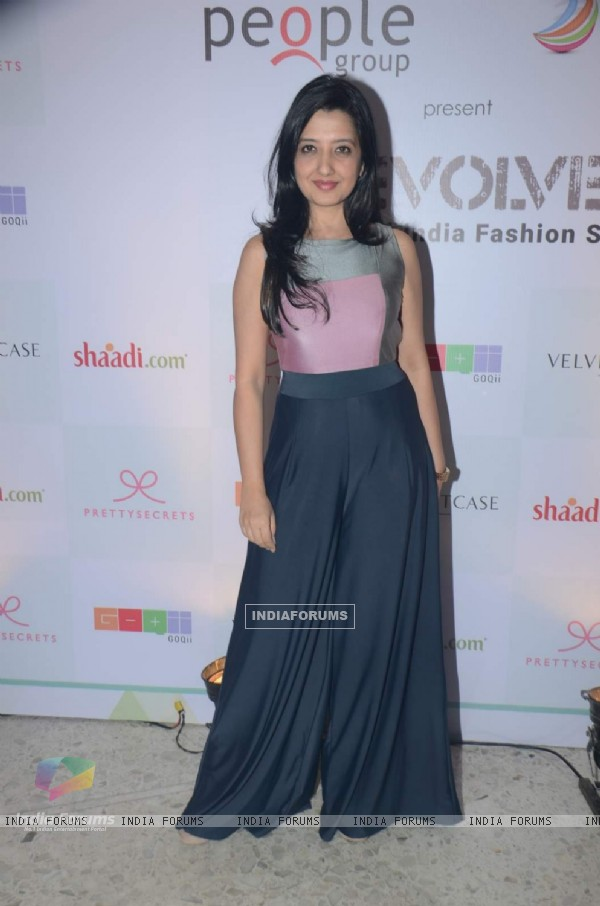 Amy Billimoria was at the Shaadi.com Fashion Show