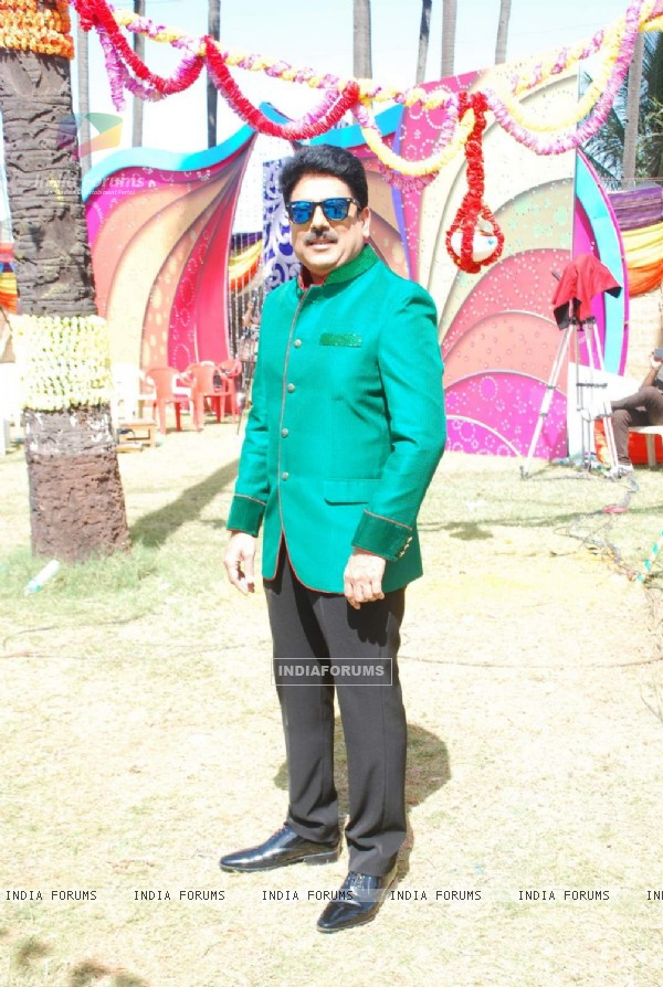 Sailesh Lodha and Sab TV Celebrate Holi