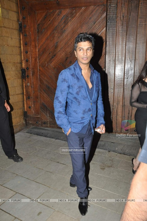 Vikram Phadnis poses for the media at the Celebration of Kunal Kapoor's Upcoming Wedding