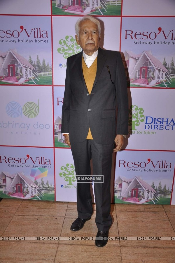 Ramesh Deo at the Launch of Resovilla
