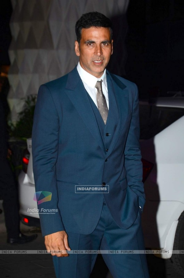Akshay Kumar was at Tulsi Kumar's Wedding Reception