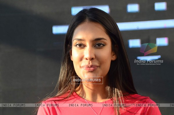 Lisa Haydon at Puma Fitness Meet