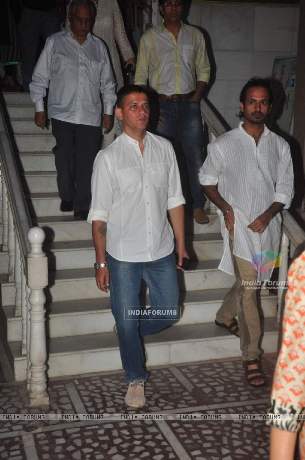 Kabir Sadanand was seen at Amit Mehra's Prayer Meet
