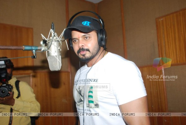 Sreesanth was at the Sound Recording of Woh Kaun Thi