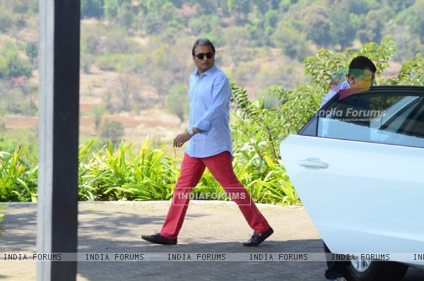 Anil Ambani at Aamir Khan's 50th Birthday Bash in Lonavla