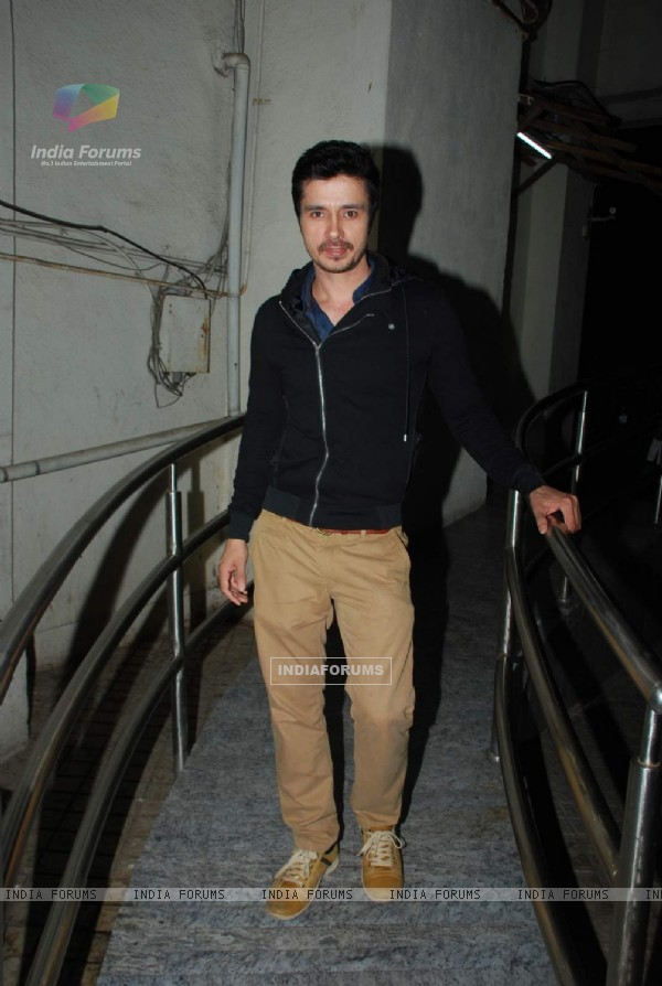 Darshan Kumar poses for the media at PVR