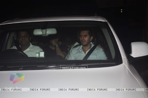 Ritesh Sidhwani was snapped at Arbaaz Khan's Bash