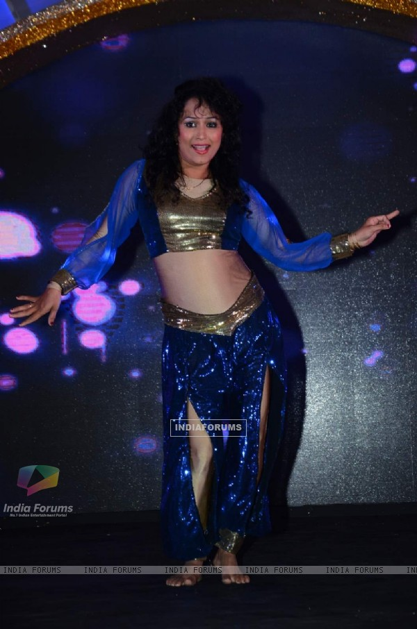 Contestant performs at the Launch of DID Supermoms Season 2