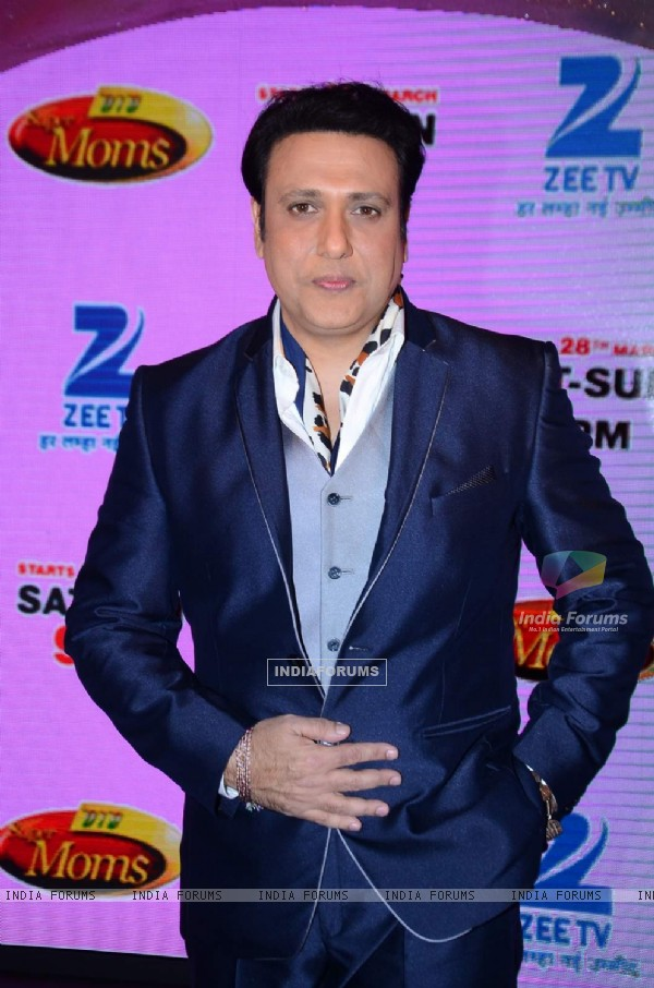 Govinda poses for the media at the Launch of DID Supermoms Season 2