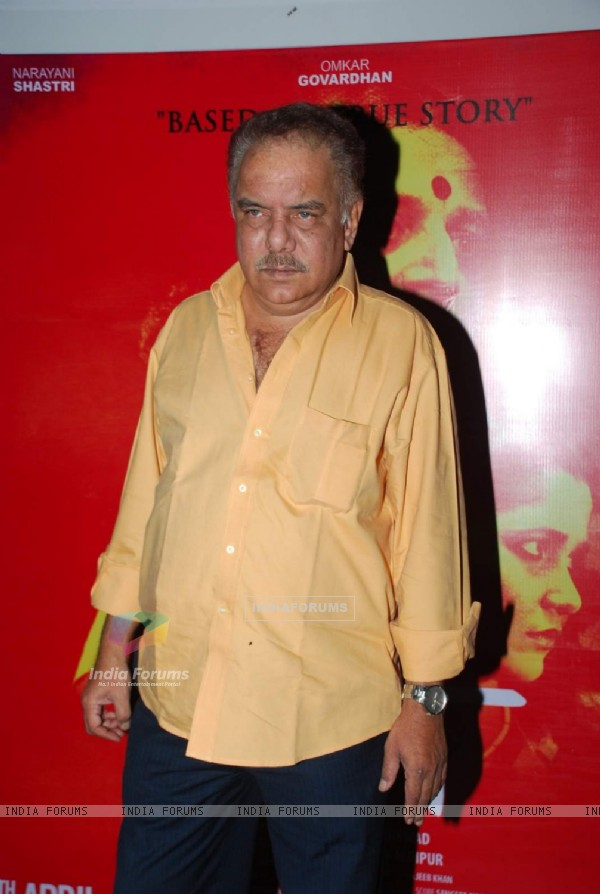 Anant Jog poses for the media at Narayani Shastri's Film Launch