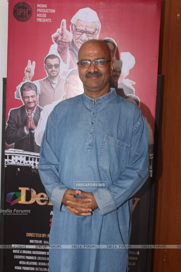 Vijay Kashyap poses for the media at the Trailer Launch of Jai Ho Democracy