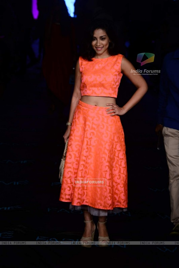 Amrita Puri was at the Lakme Fashion Week 2015 Day 2