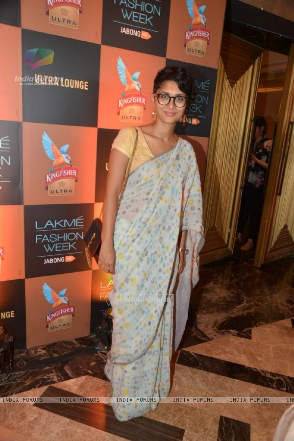 Kiran Rao at the Lakme Fashion Week 2015 Day 2