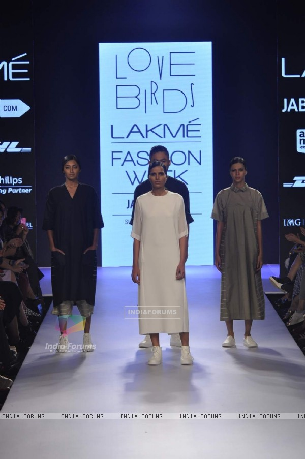 Love Birds Show at Lakme Fashion Week 2015 Day 3