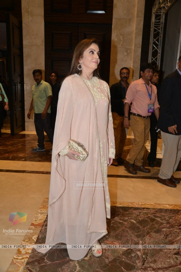 Nita Ambani was snapped at the Grand Finale of Lakme Fashion Week 2015
