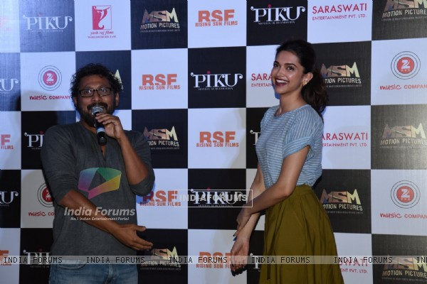 Shoojit Sircar speaks about Deepika Padukone at the Trailer Launch of Piku