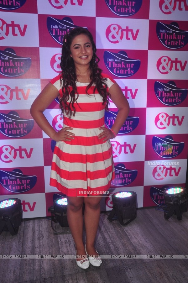 Meera Deosthale poses for the media at the Launch of Dilli Wali Thakur Gurls
