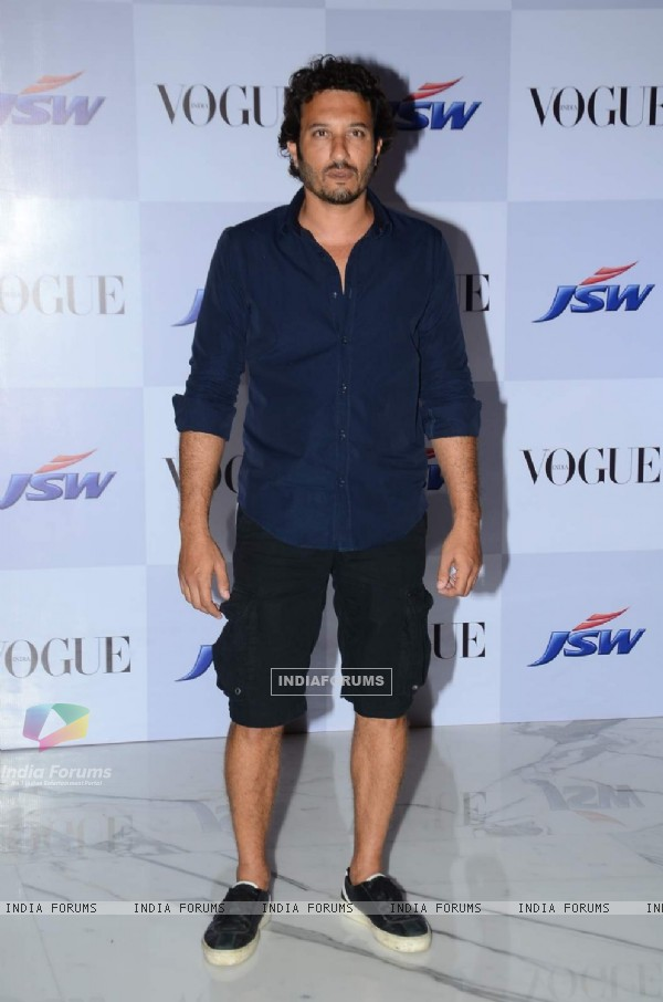 Homi Adajania poses for the media at the Launch of Vogue Empower Film 'My Choice'
