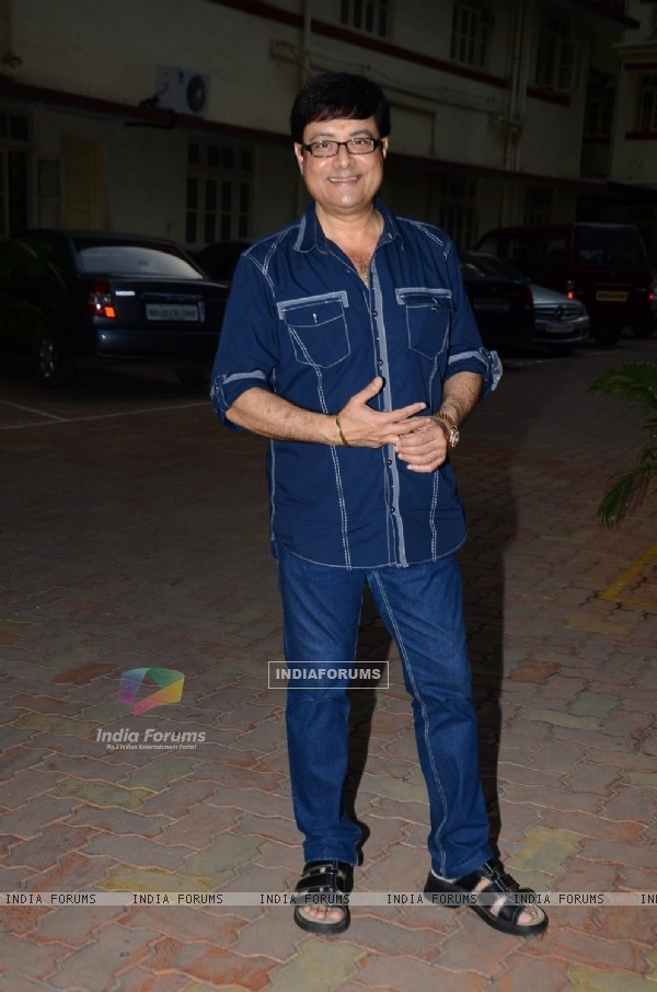 Sachin Pilgaonkar poses for the media at Launch of the Book Great Grandma's Kitchen Secret