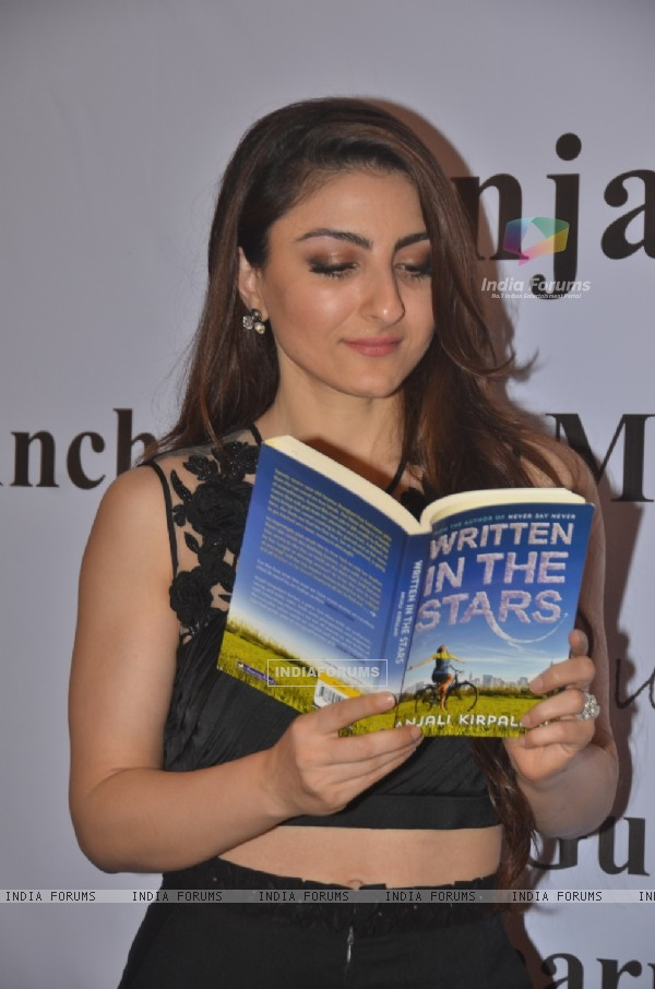 Soha Ali Khan was snapped reading the Book 'Written in the Stars'