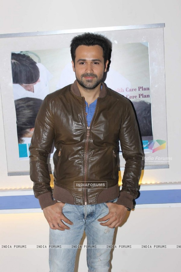 Emraan Hashmi poses for the media at the Promotions of Mr. X on Zindagi Wins