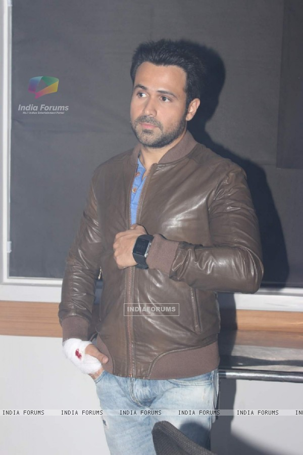 Emraan Hashmi was snapped at the Promotions of Mr. X on Zindagi Wins