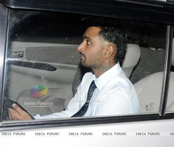 Ambati Rayudu was snapped at Suresh Raina and Priyanka Chaudhary's Wedding Ceremony