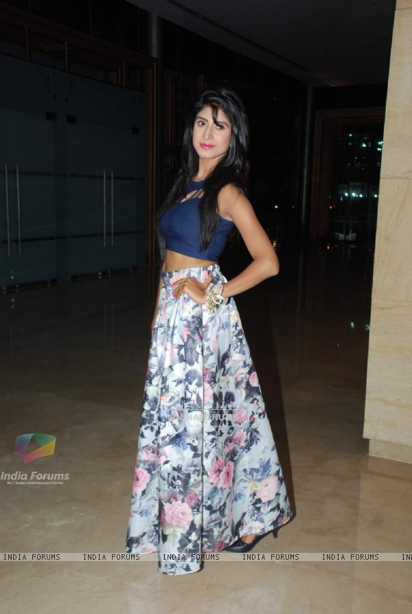 Vindhya Tiwary was seen at the Celebration of Diya Aur Baati Hum's 1000 Episodes Completion
