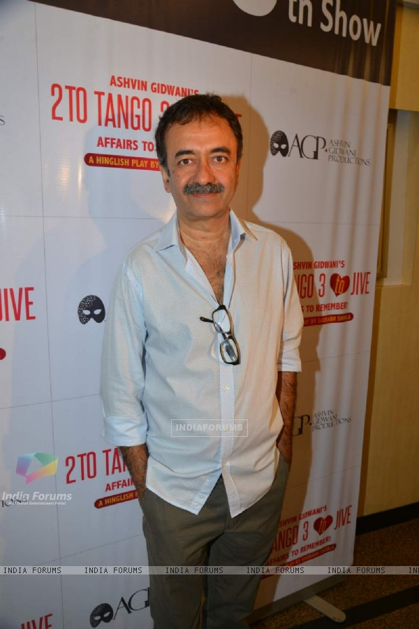 Rajkumar Hirani at the 50th Show of Ashvin Gidwani's Play 'Two To Tango Three To Jive'