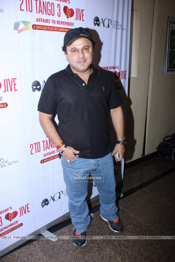 Ali Asgar was at the 50th Show of Ashvin Gidwani's Play 'Two To Tango Three To Jive'