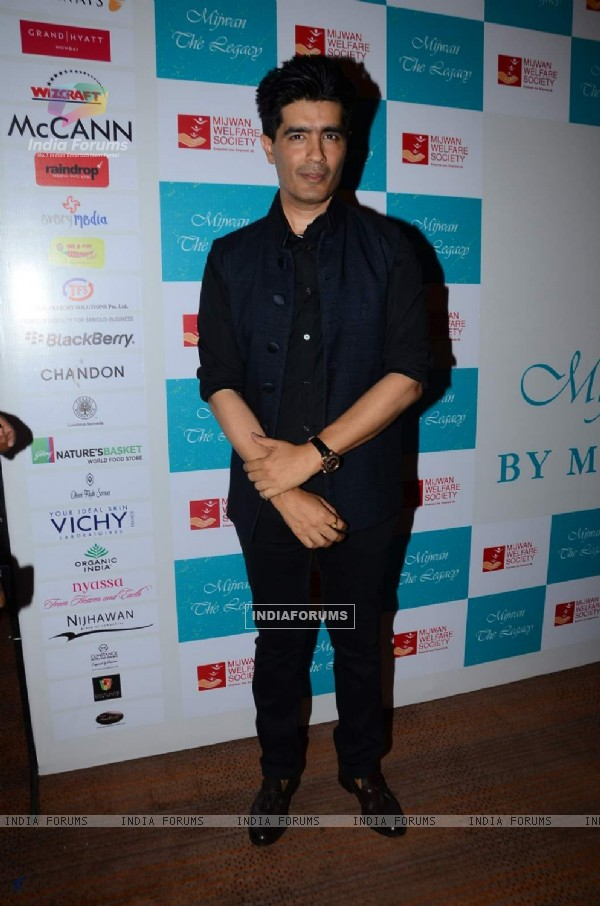 Manish Malhotra at 'Mijwan-The Legacy' a Fashion Show in Support of the Mijwan Welfare Society