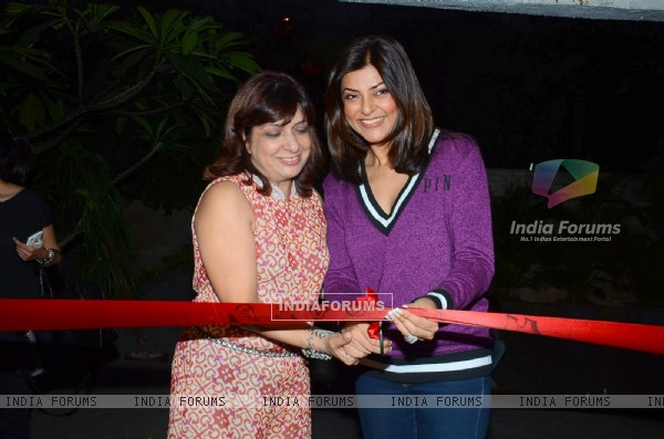 Sushmita Sen inaugurates the New Branch of Sohum Spa