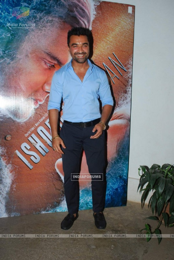 Ajaz Khan at the trailer Launch of Ishqedarriyaan