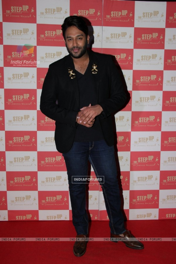 Nikhil Thampi poses at 'The Step Up' Finale