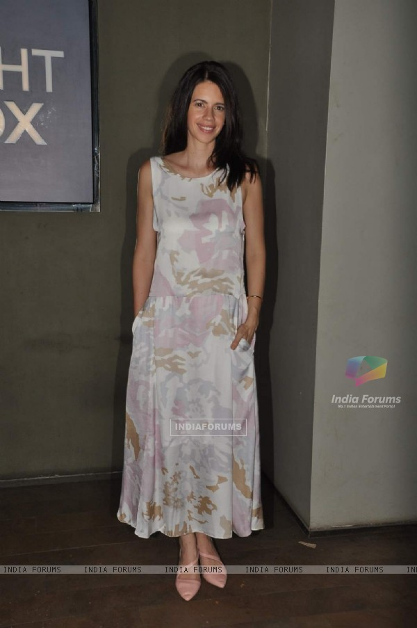 Kalki Koechlin at Special Screening of her movie Margarita with a Straw