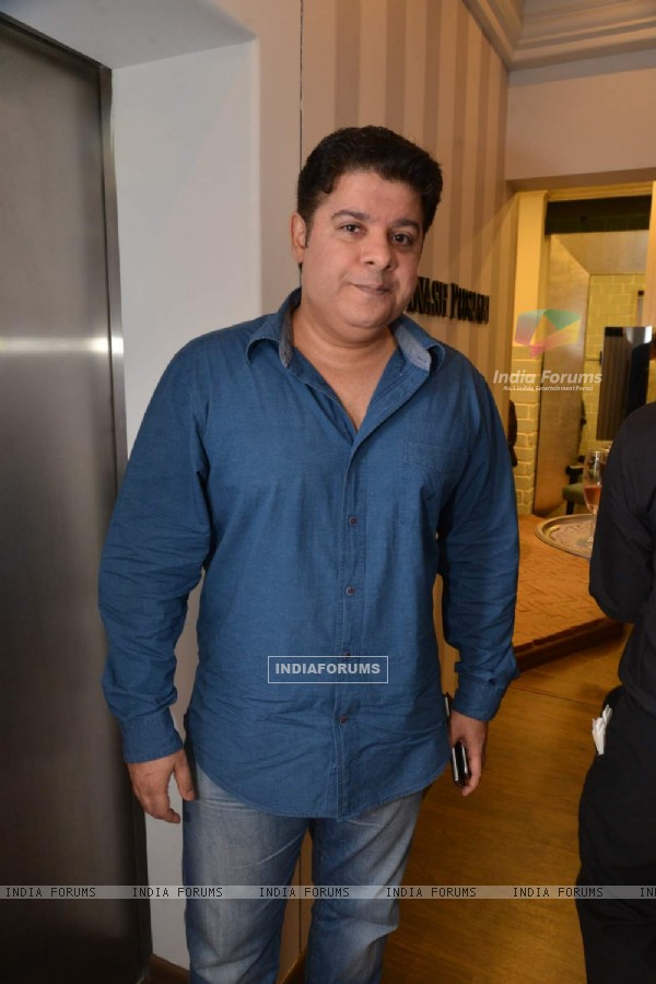 Sajid Khan at Avinash Punjabi Store Launch