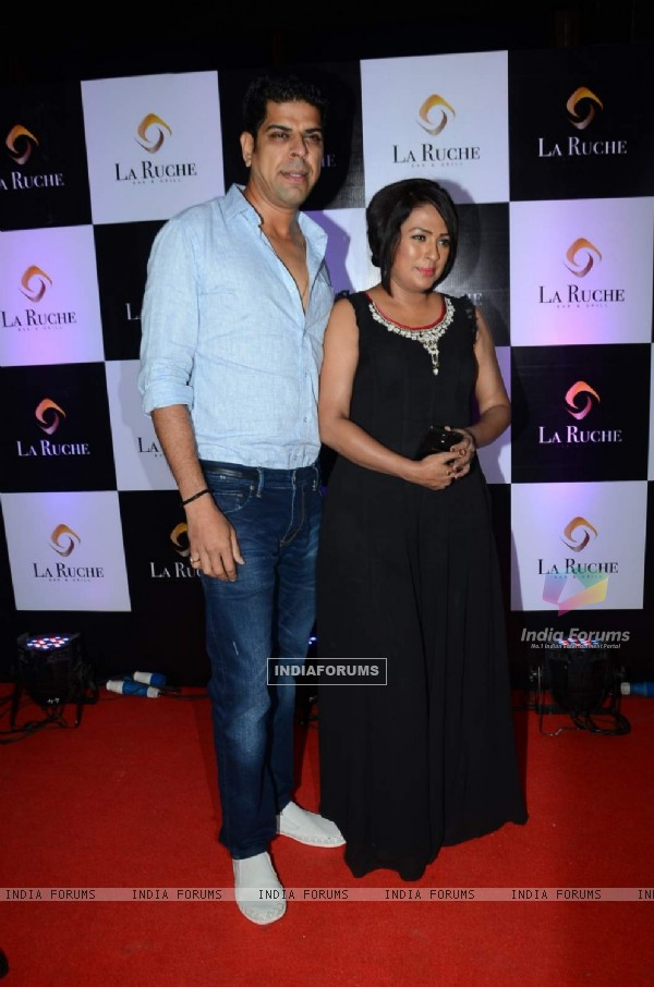 Murli Sharma and Ashwini kalsekar at La Ruche - Bar & Grill Launch