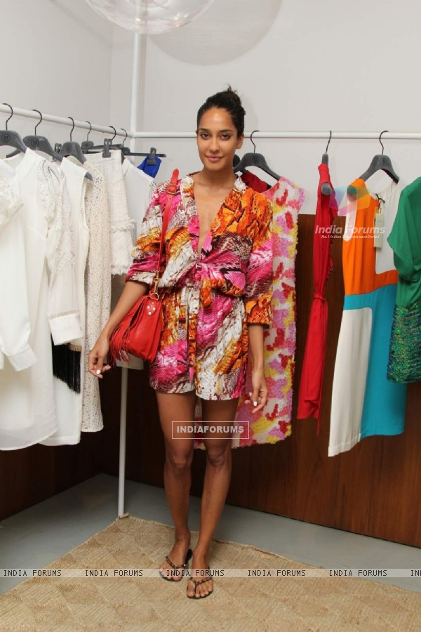 Lisa Hayden at Vizyon's SS15 Collection Preview